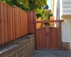Fence and gate in San Rafael