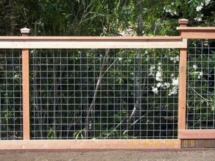Hog wire – A-1 Construction – Deck, Fence, Stairs, Railings and Dry ...