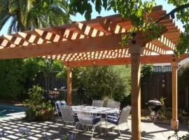 Heavy duty pergola