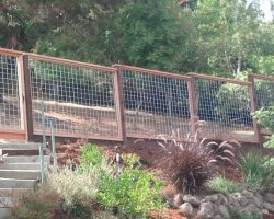 Hog Wire A 1 Construction Deck Fence Stairs
